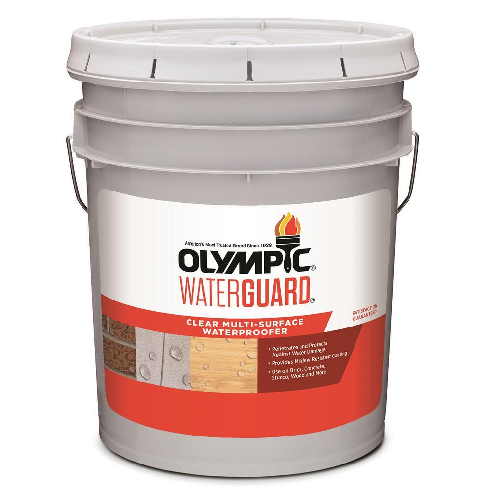 Waterguard 5 gal. Clear Multi-Surface Waterproofing Sealant