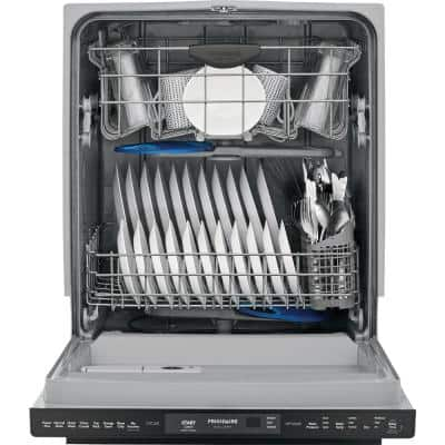24 in. Smudge Proof Stainless Steel Top Control Built-In Tall Tub Dishwasher, ENERGY STAR, 49 dBA