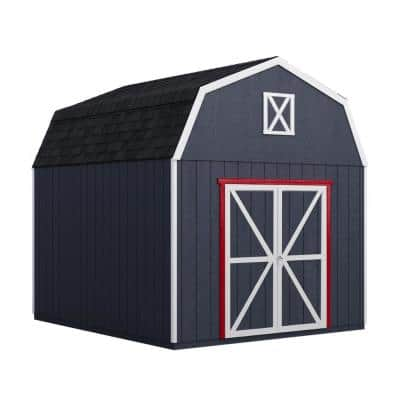 Do-it Yourself Braymore 10 ft. x 10 ft. Wooden Storage Shed with Flooring Included