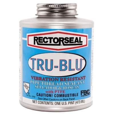 4 oz. Tru-Blu Pipe Thread Sealant with PTFE