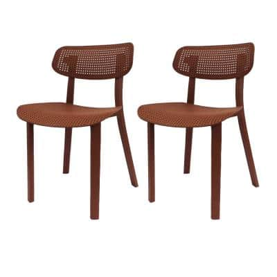 Speck Brown Dining Chair (Set of 2)