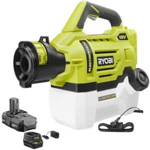 ONE+ 18V Lithium-Ion Cordless Battery Electrostatic 0.5 Gal Sprayer - 2.0 Ah Battery and Charger Included