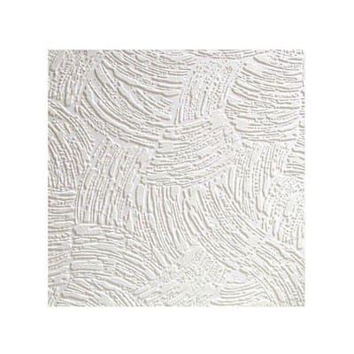 Surf Paintable Textured Vinyl White & Off-White Wallpaper Sample