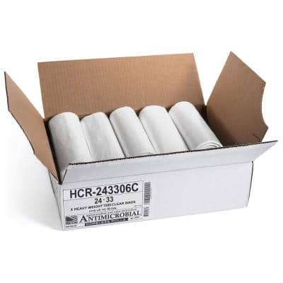 Source Reduction 12 Gal. to 16 Gal. 6 Micron Gauge Equivalent Value Trash Bags (Commercial 1000-Pack)