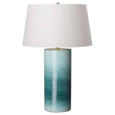 35 in. Coastal Splash Ceramic Table Lamp