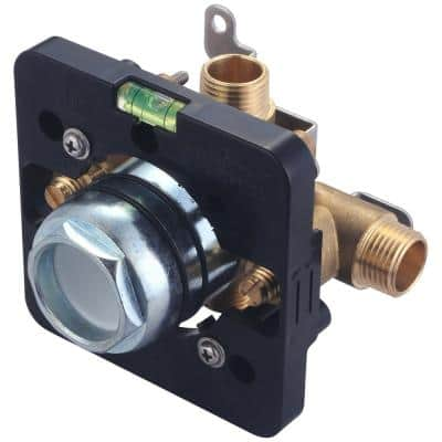 Pressure Balance Rough Valve with Combo CXC and IPS Inlet and Outlet Connections