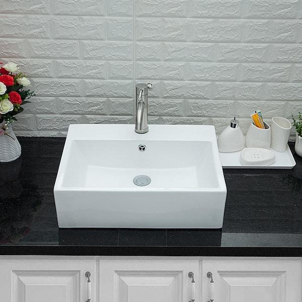 Lordear 20 In X 18 Bathroom Vessel, Bathroom Vessel Vanity