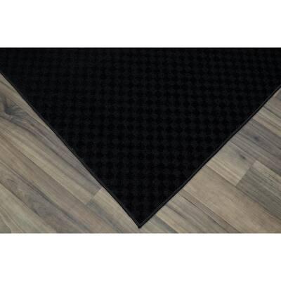 Medallion Black 2 ft. x 8 ft. Runner Rug
