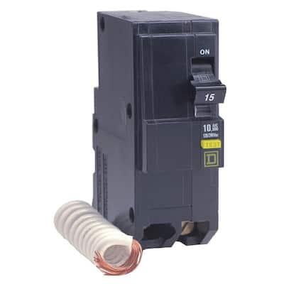 QO Qwik-Gard 40 Amp 2-Pole GFCI Breaker