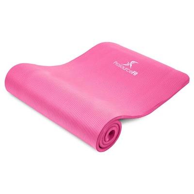 All Purpose Pink 71 in. L x 24 in. W x 0.5 in. T Thick Yoga and Pilates Exercise Mat Non Slip (11.83 sq. ft.)