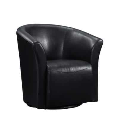 Radford Black Swivel Chair