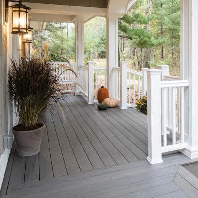 PRO Terrain Collection 4-Sided Capped Composite Decking Board