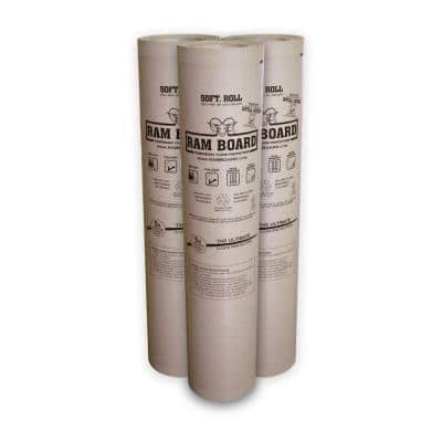 .042 in x 38 in. x 50 ft. Temporary Floor Protection Board