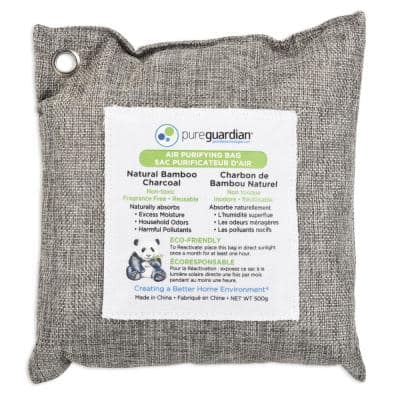 Air Purifying Bamboo Charcoal Bag, 16 oz