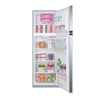 8.8 cu.ft. Top Freezer Refrigerator in Stainless Steel, Counter Depth