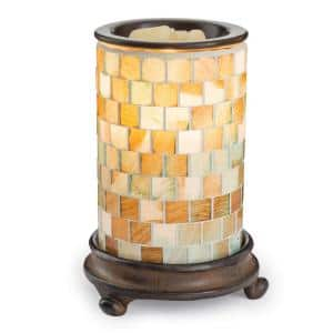8.8 in. Sea Glass Illumination Fragrance Warmer