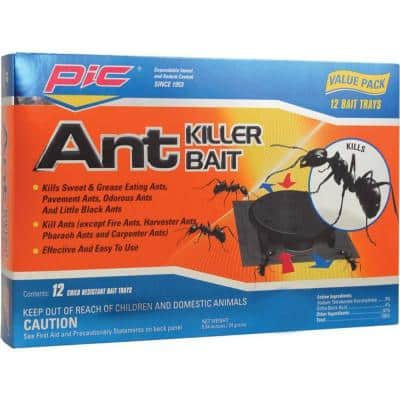 12 Plastic Ant-Killing Systems (3-Pack)