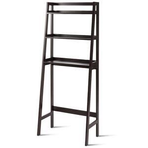 25 in. W 3-Shelf Over-The-Toilet Freestanding Storage Organizer Toilet Rack