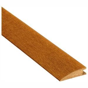 Falcon Brown Hickory 3/8 in. Thick x 2-1/4 in. Wide x 78 in. Length Overlap Reducer Molding