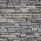 Easy Stack 5 in. x 20 in. Grayson No Mortar Concrete Ledge Stone Flat Panel 4.9 sq. ft. per box