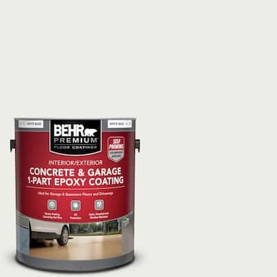 1 gal. #52 White Self-Priming 1-Part Epoxy Satin Interior/Exterior Concrete and Garage Floor Paint
