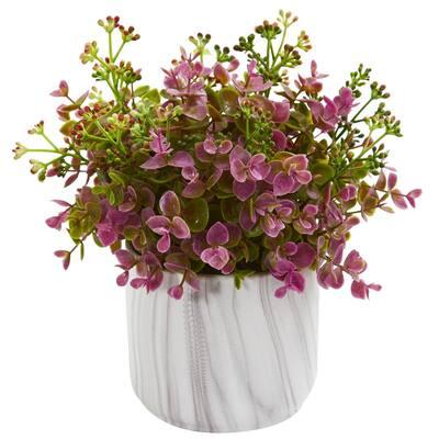 Artificial Large Purple Sedum Succulent
