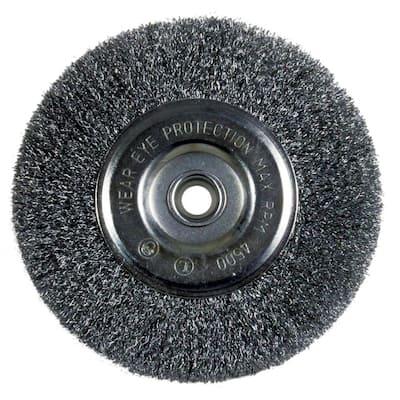 6 in. Fine Bench Wire Wheel