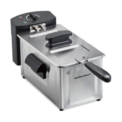 2 Qt. Stainless Steel Deep Fryer