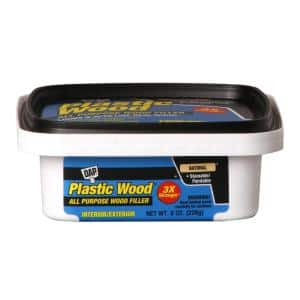 Plastic Wood 8 oz. Natural Latex Wood Filler (6-Pack)