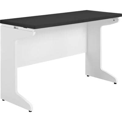Mansfield Gray and White Desk