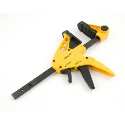 Professional 6 in. 1-Hand Bar Clamp and 14 in. Spreader