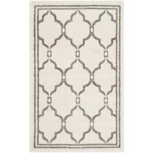 Amherst Ivory/Gray 3 ft. x 4 ft. Area Rug