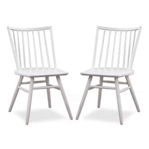 Talia Dining Chair in White (Set of 2)