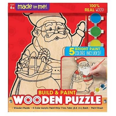Santa Wooden Puzzle