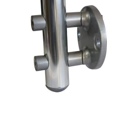 Prova PA12 1-7/8 in. Powder Coated Metal Side Mount Spacer