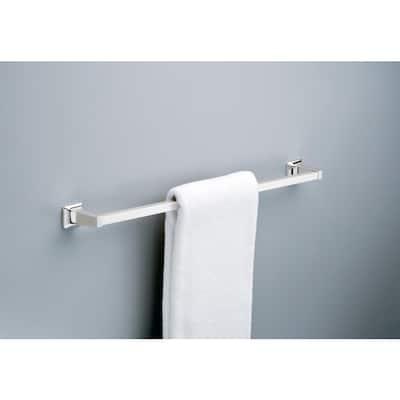 Futura 30 in. Towel Bar in Chrome