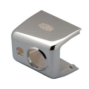Chrome-Plated Metal Sensor Cover for AquaSense E-Z Flush Sensor Flush Valves