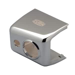 Chrome-Plated Metal Sensor Cover for AquaSense E-Z Flush Sensor Flush Valves