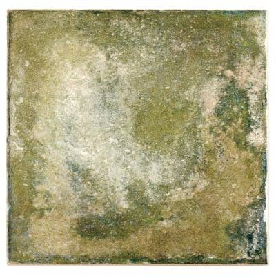 Angela Harris Green 8 in. x 8 in. x 9mm Polished Ceramic Wall Tile (25 pieces / 10.76 sq. ft. / box)