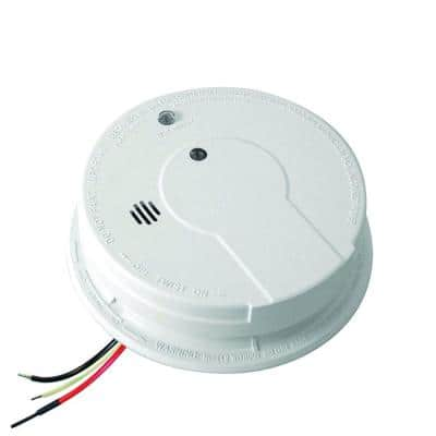 Firex Hardwired Smoke Detector with 9-Volt Battery Backup