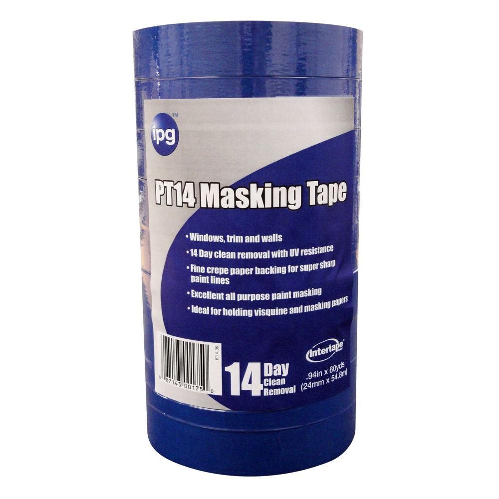 PT14 Pro Mask Blue 1 in. x 60 yds. Masking Tape (9-Pack)