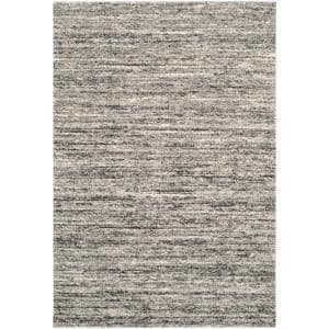 Retro Ivory/Gray 6 ft. x 9 ft. Area Rug