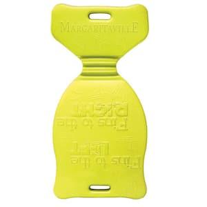 34 in. XL Single Yellow Foam Pool Saddle Float