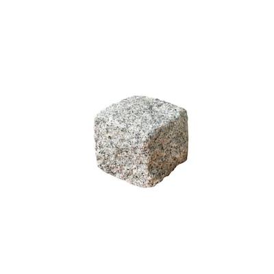 Cobblestone 4 in. x 4 in. x 4 in. Gray Granite Edging (250-Pieces/83 lin. ft./Pallet)