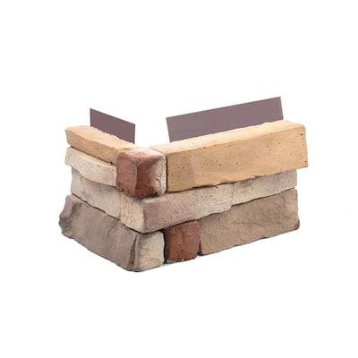 15 in. x 6 in. Desert Tan Stone Veneer Siding Corners