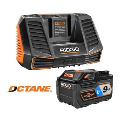 18-Volt OCTANE 9.0 Ah Lithium-Ion Battery and Charger Kit