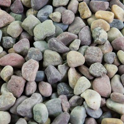 25 cu. ft. 3/8 in. Patagonia Bulk Landscape Rock and Pebble for Gardening, Landscaping, Driveways and Walkways