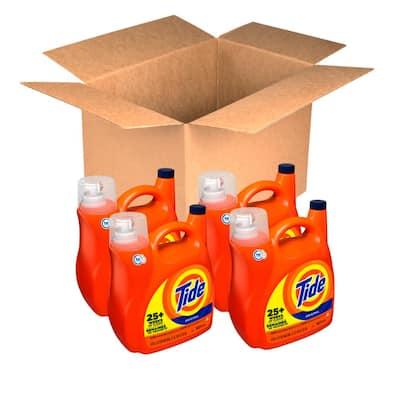 154 fl. oz. Original Scent Liquid Laundry Detergent (107 Loads, Case of 4)