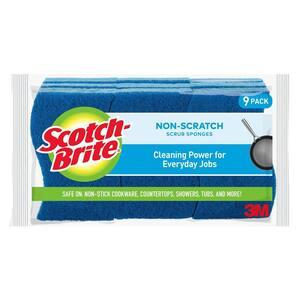 Non-Scratch Scrub Sponge (9-Pack)