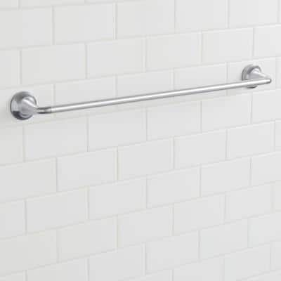 Constructor 24 in. Towel Bar in Chrome